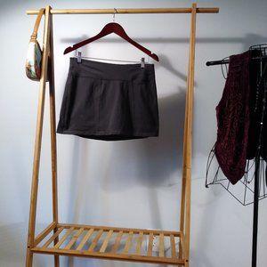 Tek Gear Exercise Mini Skort Shorts Skirt Gray L